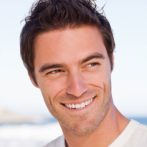 Even Men can enjoy the results of an AHA peel when you come to Hazelday Spa.